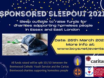 BCYS  Sponsored Sleepout 2021