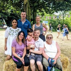 Families at Parish Summer Fete 2018