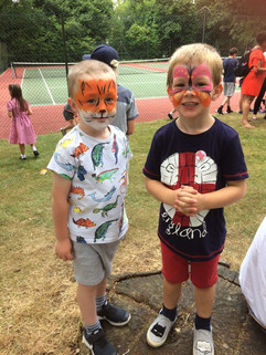 Face Painting at Parish Summer Fete 2018