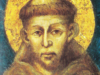 Feast of St Francis:  Transitus Saturday 7.30 pm