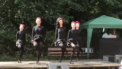 Irish Dancing at Parish Summer Fete 2018