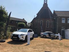 """Drive Lexus a weekend"" at Parish Summer Fete 2018"