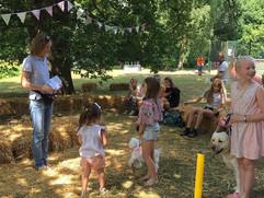Dog show at Parish Summer Fete 2018