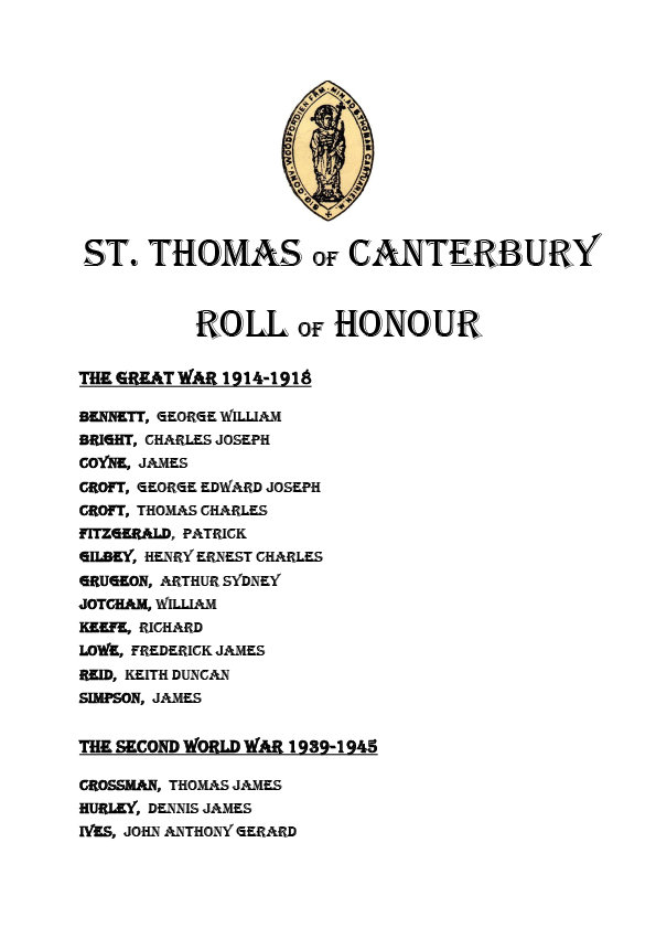 STtof c roll of honour august 18 version