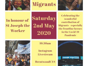 Mass for Migrants and Emergency Workers