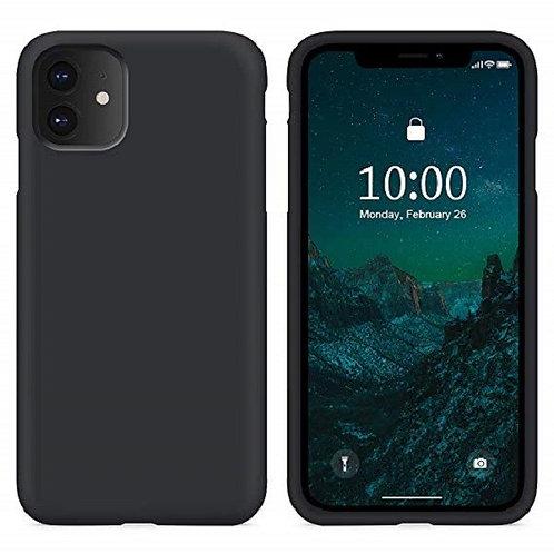 Custodia Silicone iPhone 11 Nero