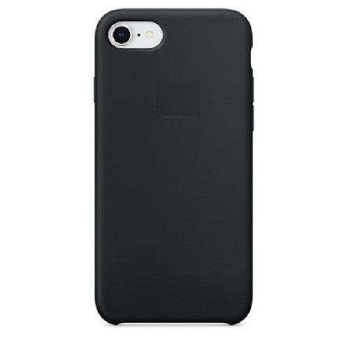Custodia Silicone iPhone 7/8/SE2020 Nero