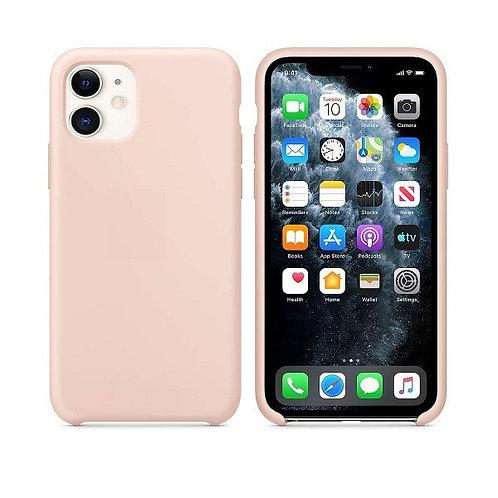 Custodia Silicone iPhone 11 Rosa