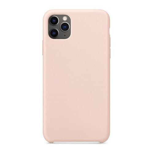 Custodia Silicone iPhone 11 Pro Max Rosa