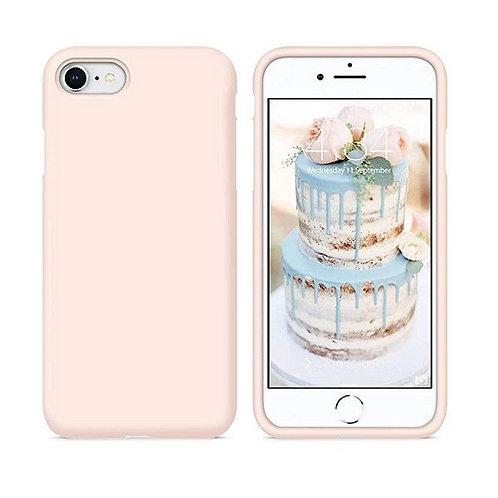 Custodia Silicone iPhone 7/8/SE2020 Rosa