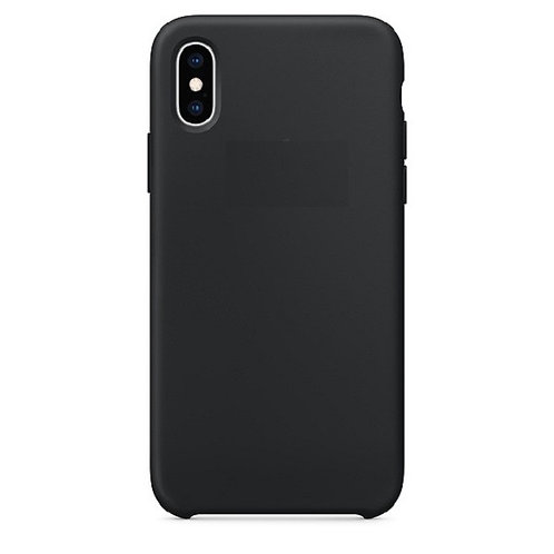 Custodia Silicone iPhone X/XS Nero