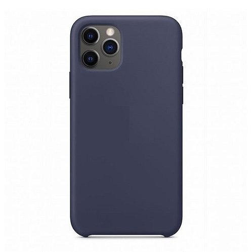 Custodia Silicone iPhone 11 Pro Blu