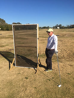 Golf Ball Protection Screen Field Test by Breeze Thru Screens