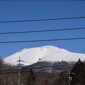 久しぶりの雪山