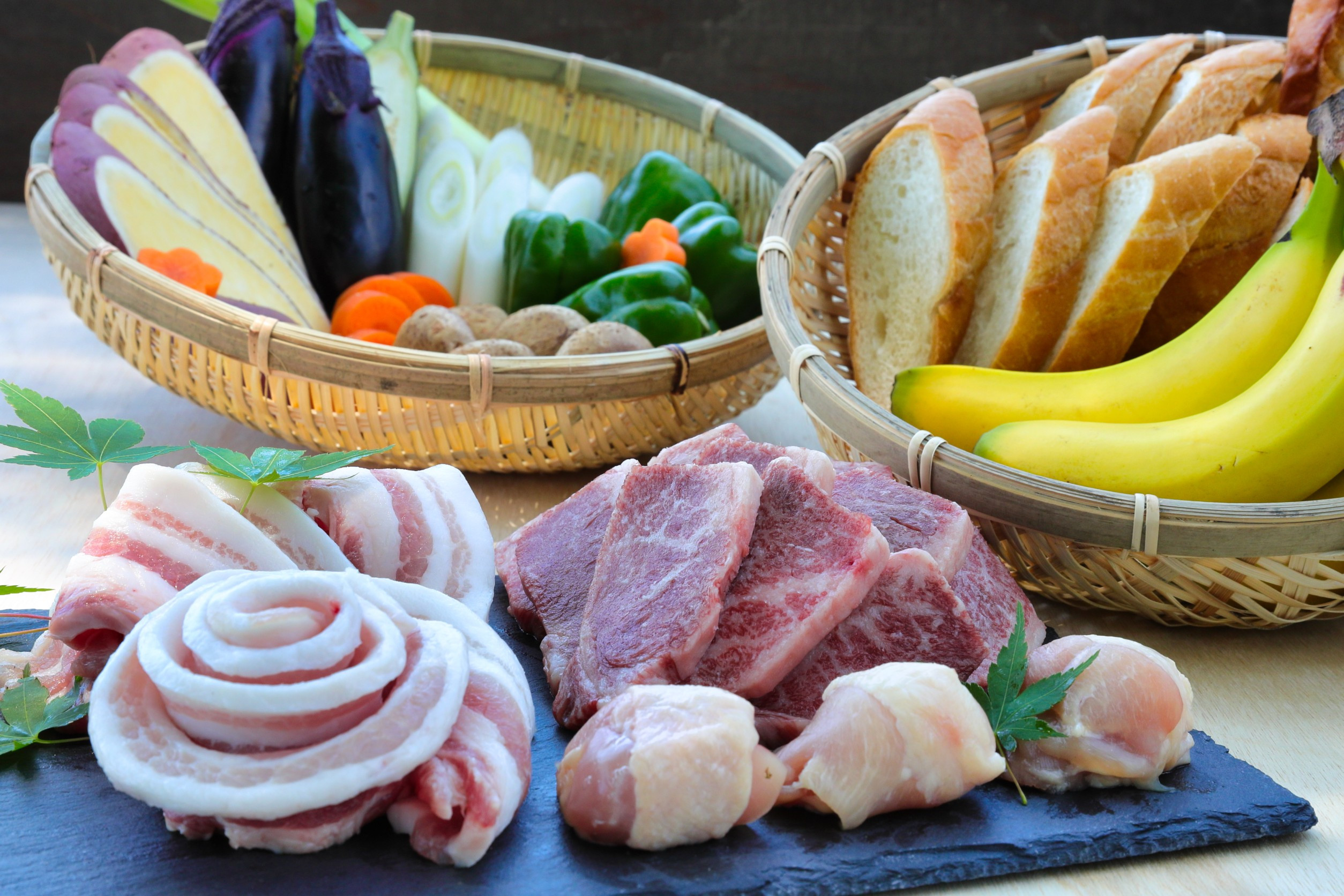 BBQ・信州産ブランドお肉満喫コース