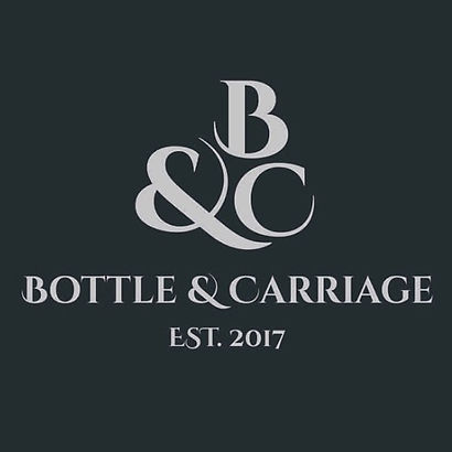 New Branding! What do you think_ Thanks, Logo, Bottle & Carriage, Mobile Bar, Prosecco, Gin, Gin masterclass, Gin Festival, Gin Tasting