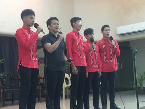 Our singing boys!