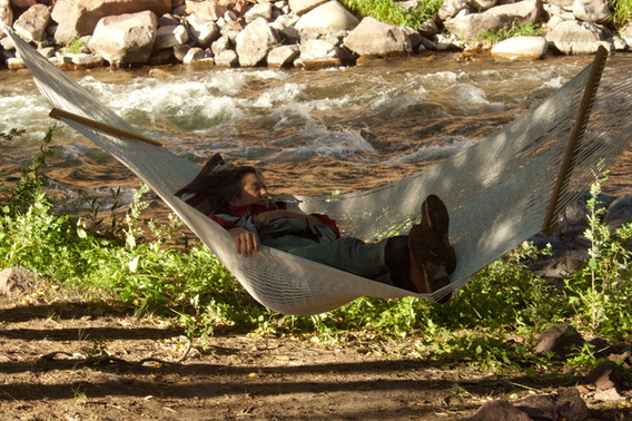 Hammock by the river