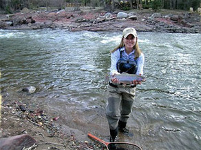 Fish on the Roaring Fork