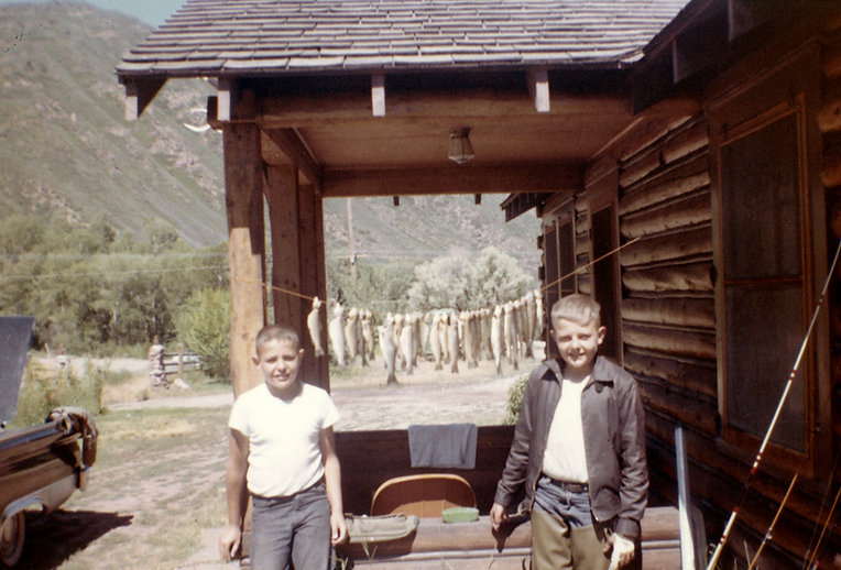 Historic Cabins Fishing