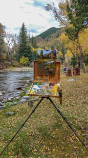 Paint by the River