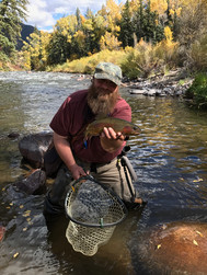 Fly fishing success