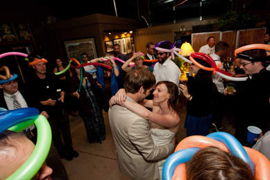 Party with Balloon Hats