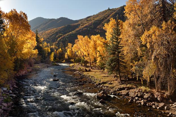 Roaring Fork in Fall
