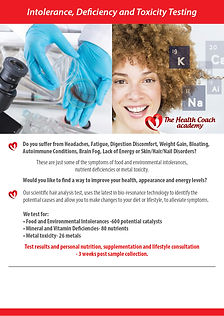 The Health Coach Leaflet for Retailers A