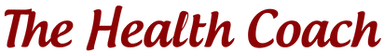The Health Coach Name Logo