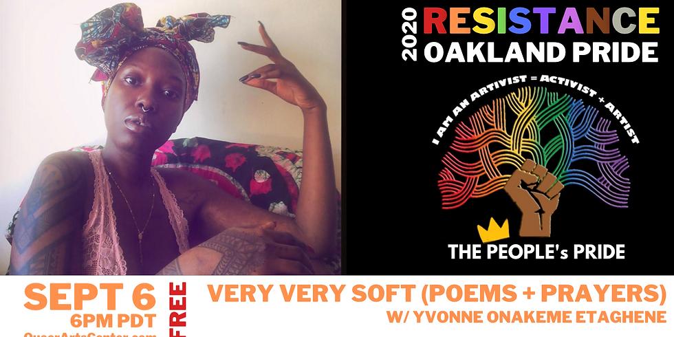 Very very soft (poems + prayers) w/ Yvonne Onakeme Etaghene