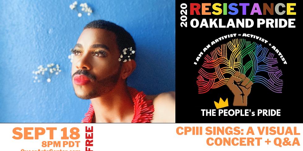 CPIII Sings: A Visual Concert + Q&A
