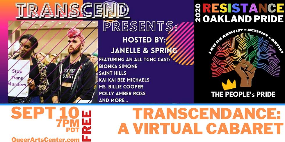The Peoples Oakland Pride: Transcendance: A Virtual Cabaret