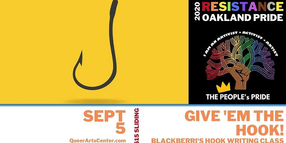 Give 'em the HOOK! Hook Writing Workshop with Blackberri