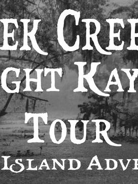 Creek Creepin' Night Kayak Tour