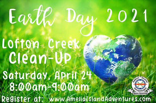 Earth Day Clean Up Lofton Creek