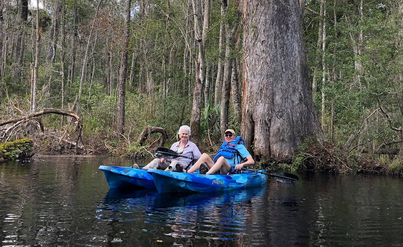Big Cypress SELF-GUIDED Kayak Tours