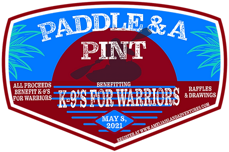 K9's For Warriors Paddle & A Pint