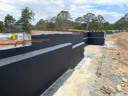 Retaining Wall Waterproofing