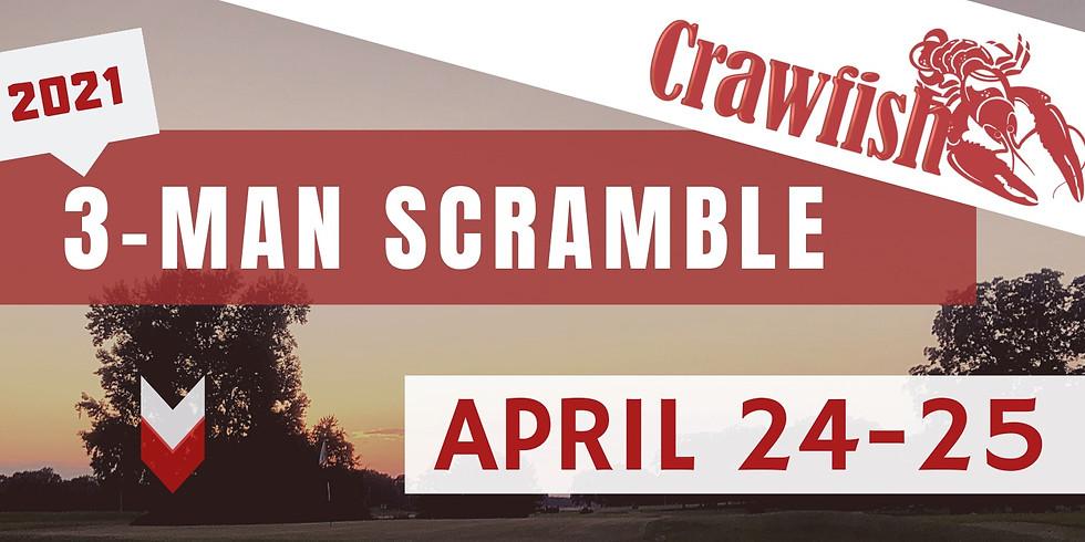 """3-Man Scramble - """"CRAWFISH"""""""