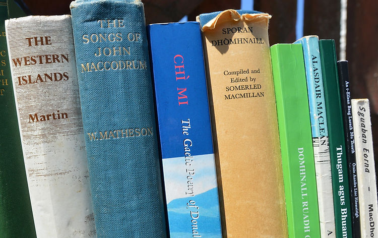 gaelic books uist uibhist