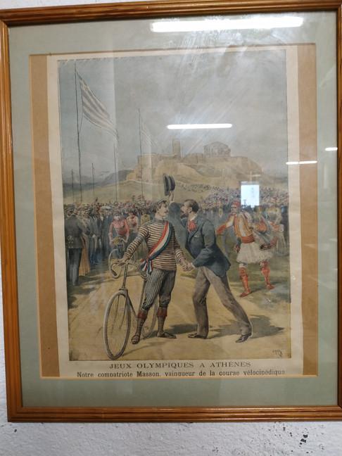 Premiers Jeux Olympiques modernes Athènes 1896