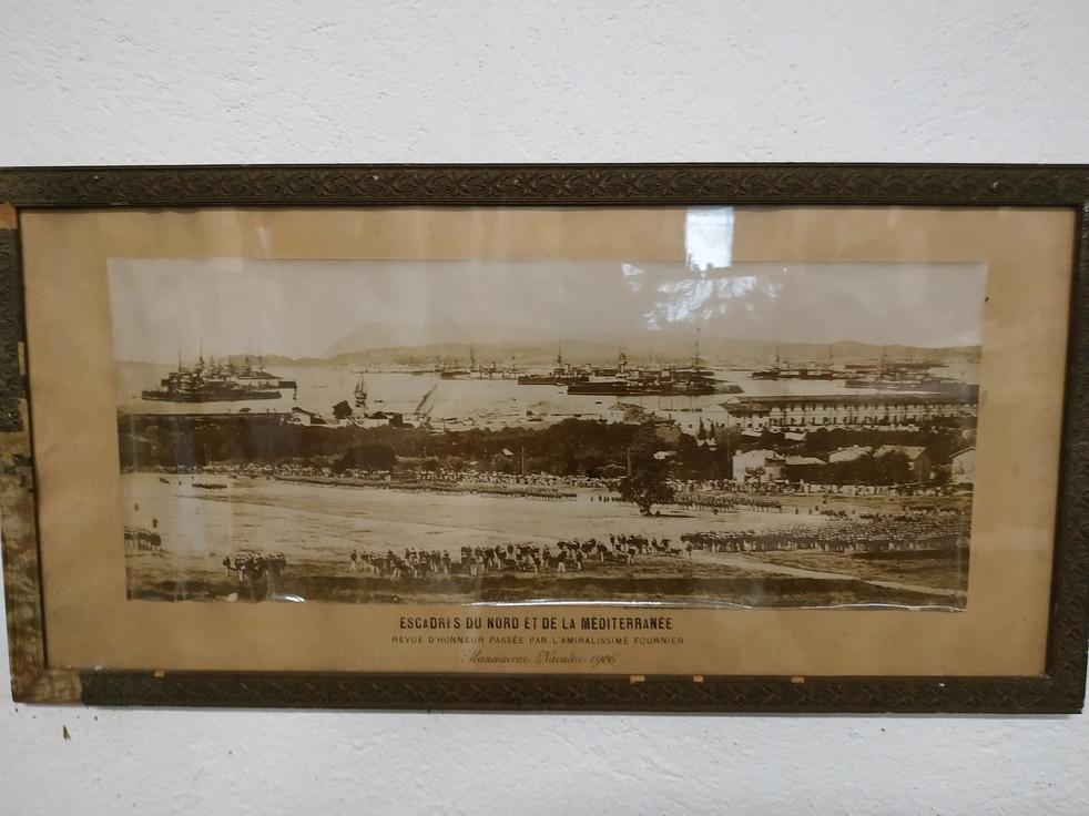 Grande parade des Escadres Françaises de la Méditerranée et de l'Atlantique 1906 rade de Toulon