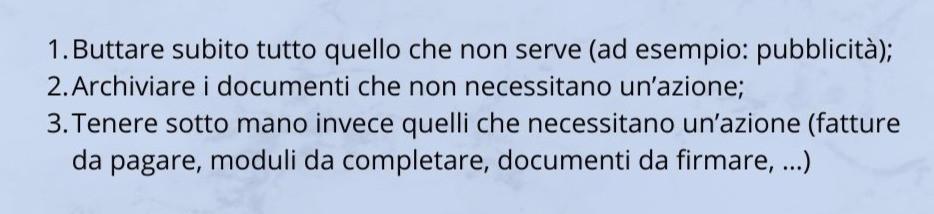 TiRiordino Professional Organizer come archiviare i documenti cartacei
