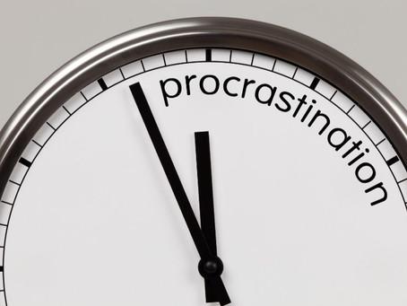 Procrastinare come smettere!