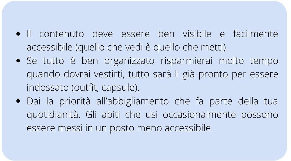 TiRiordino Professional Organizer Come organizzare l'armadio intelligente