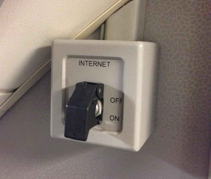 Knop Internet aan/uit