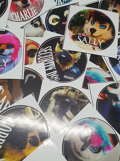 SALLY: SEASON 2 - Stickers