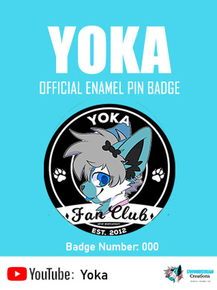 YOKA: Enamel Pin Badge