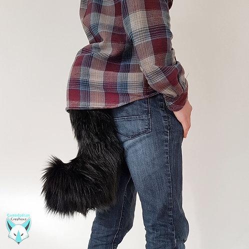 Black Tail & Ears Combo